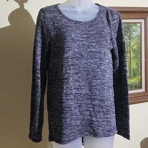 Larry Levine sheer back sweater G3